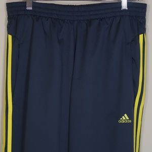 Solid Gray with Yellow Streaks Sweats